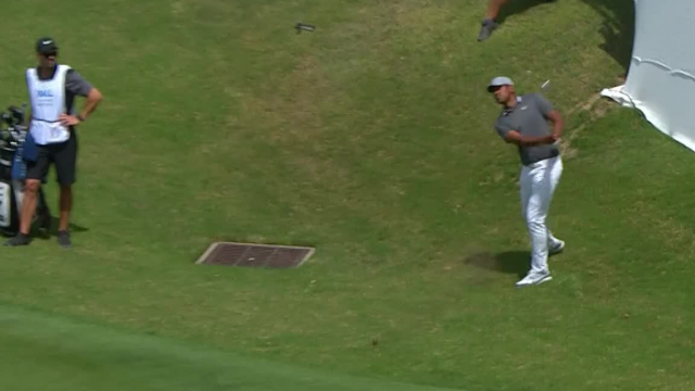 Tony Finau gets up-and-down for birdie at WGC-Dell Match Play
