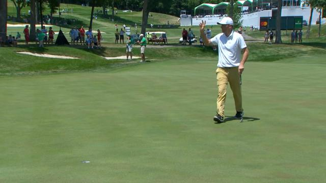 Today's Top Plays: Russell Henley's 45-foot birdie putt for the Shot of the Day