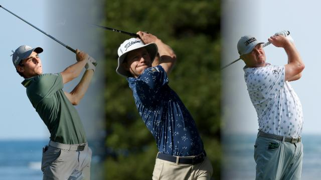 Three tied for the lead at the Sony Open