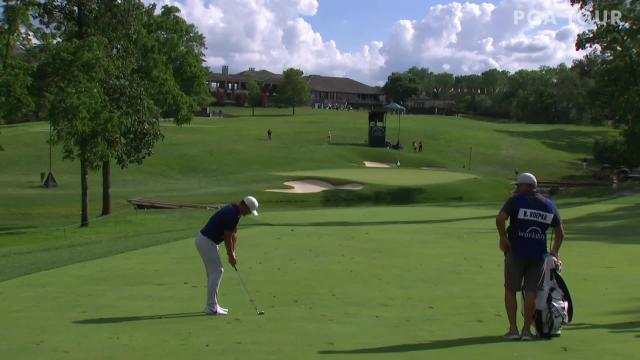Brooks Koepka makes birdie on No. 9 in Round 2 at Workday
