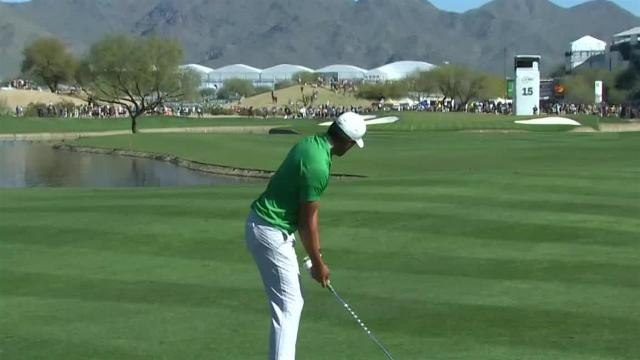 Tony Finau's impressive second leads to birdie at Waste Management