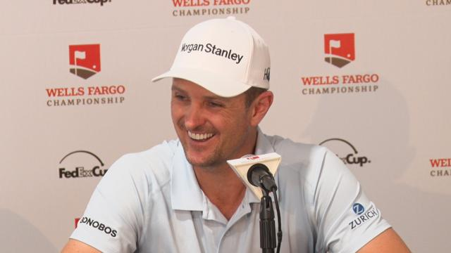 Justin Rose comments before Wells Fargo