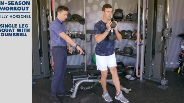 Billy Horschel's in-season workout