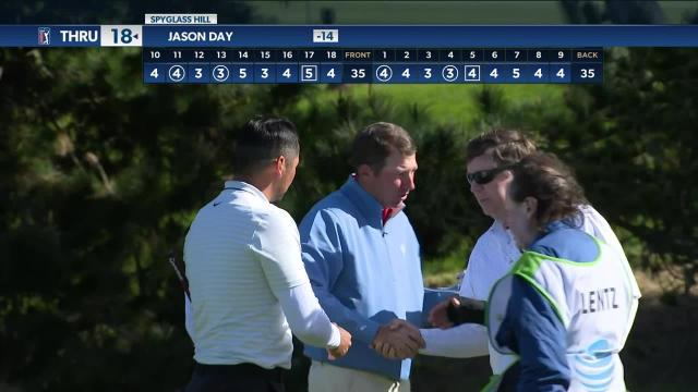 Jason Day Highlights from AT&T Pebble Beach Round 3