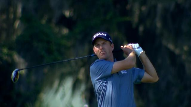 Webb Simpson's Round 1 highlights from The RSM Classic