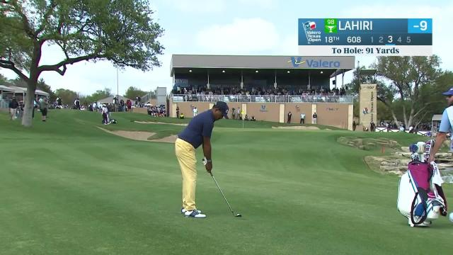 PGA TOUR | Anirban Lahiri birdies No. 18 in Round 4 at Valero
