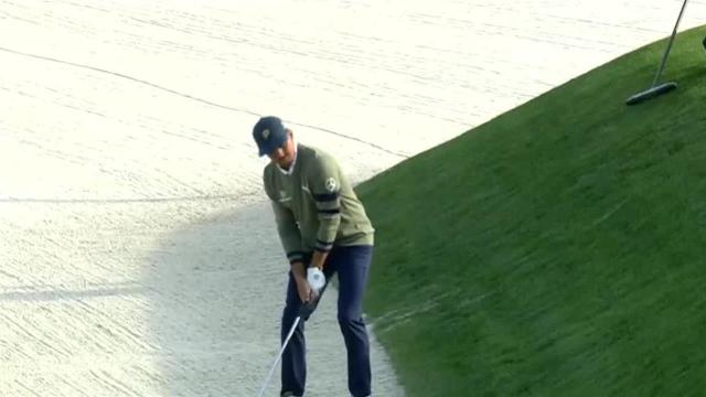 Rickie Fowler's bunker play leads to birdie at THE PLAYERS
