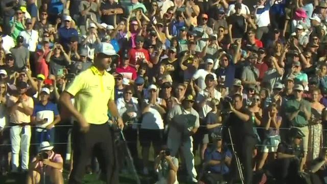 PGA TOUR | Webb Simpson birdies first hole of playoff to win Waste Management