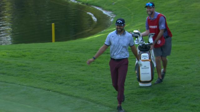 Today's Top Plays: Erik van Rooyen's eagle chip-in is the Shot of the Day