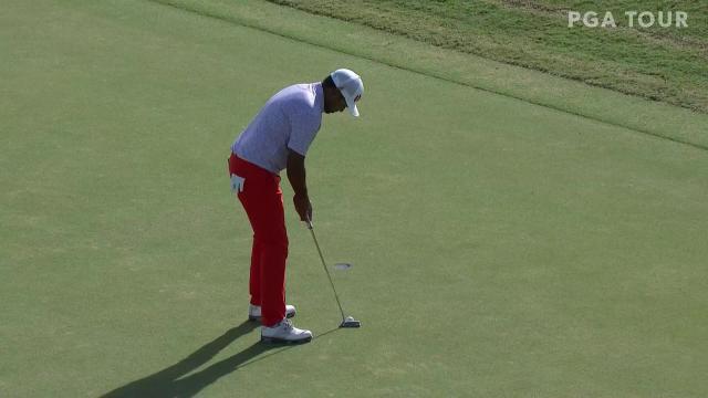 Anirban Lahiri makes birdie on No. 18 in Round 4 at Bermuda