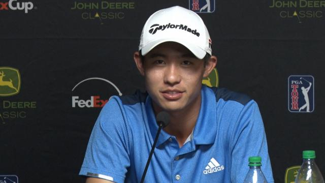 Collin Morikawa reviews his season before John Deere