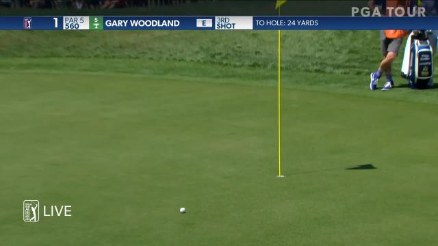 Gary Woodland gets up-and-down for birdie at Valspar
