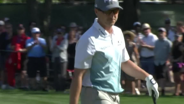 Austin Cook chips in for birdie at Valspar