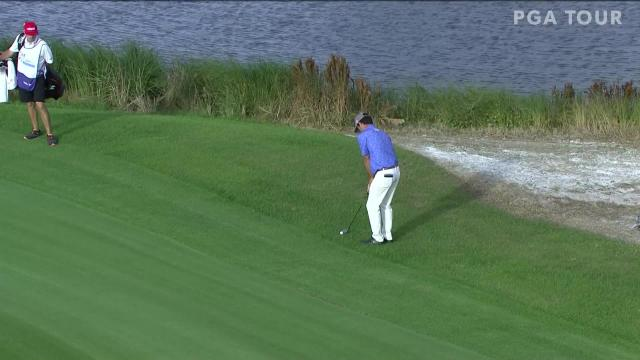 Robert Streb makes birdie on No. 15 in Round 3 at The RSM Classic