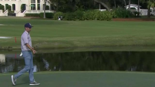 Brendon Todd's lengthy birdie putt at The RSM Classic
