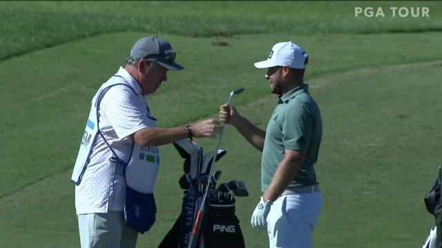 Today's Top Plays: Tyrrell Hatton dunks eagle approach for Shot of the Day
