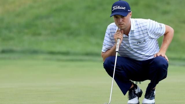 Justin Thomas take 54-hole lead at Workday