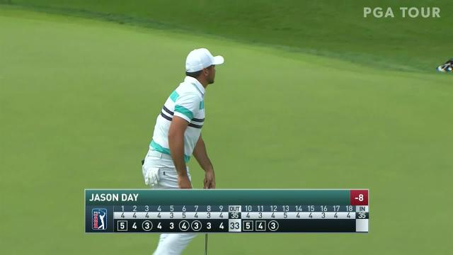 Jason Day makes birdie on No. 12 in Round 3 at Travelers