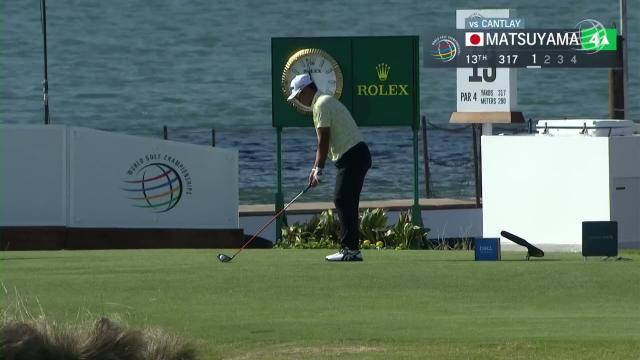 Hideki Matsuyama makes birdie on No. 13 in Round 3 at WGC-Dell Match Play