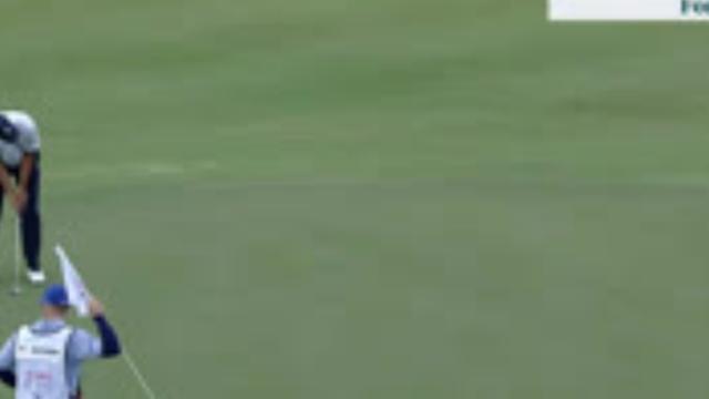 Matt Kuchar's lengthy eagle putt at Hero