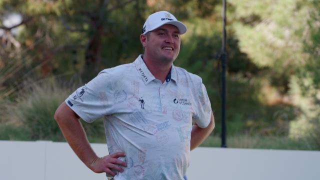 Jason Kokrak takes the RSM Birdies Fore Love prize at THE CJ CUP