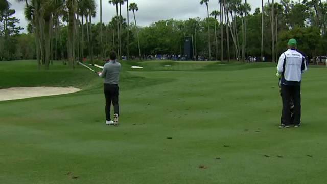 Ollie Schniederjans uses nice approach for birdie at THE PLAYERS