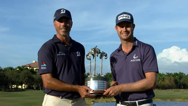 Harris English and Matt Kuchar's Final Round highlights from QBE Shootout