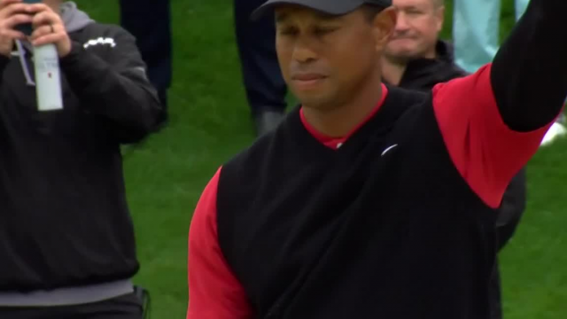 Tiger Woods incredible bunker hole-out saves par at THE PLAYERS