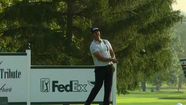 Scott Piercy makes eagle on No. 12 in Round 1 at The Greenbrier