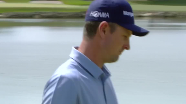 Justin Rose jars 19-foot birdie putt at Arnold Palmer