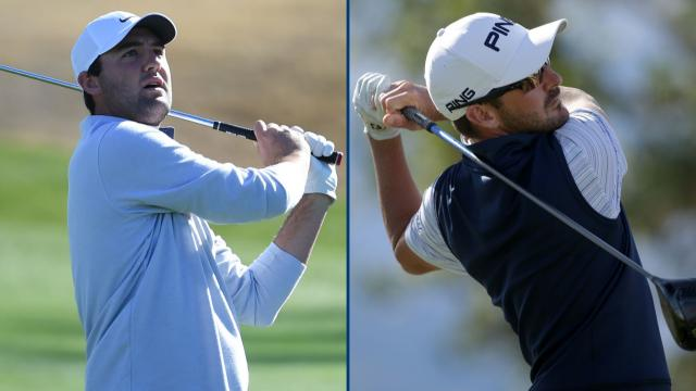 Scheffler, Landry tied for the lead at The American Express