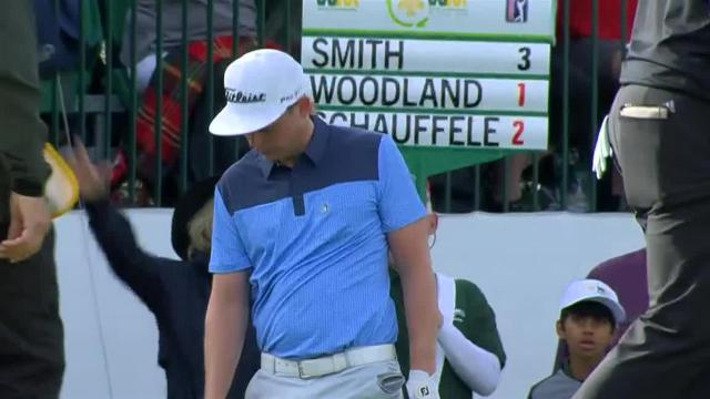 Cameron Smith chips in for birdie at Waste Management