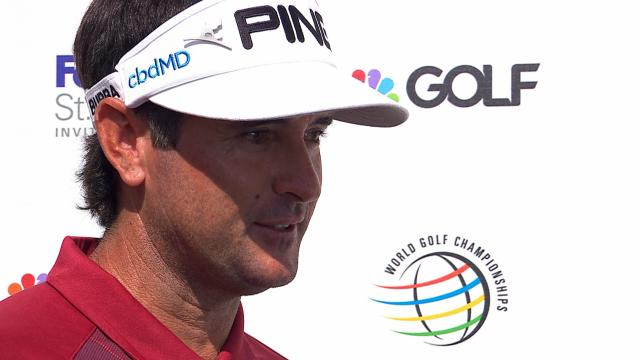 Bubba Watson's interview after Round 1 of WGC-FedEx St. Jude
