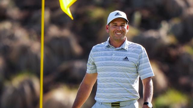 PGA TOUR   Today's Top Plays: Sergio Garcia's amazing ace to advance to Round of 16 is Shot of the Day