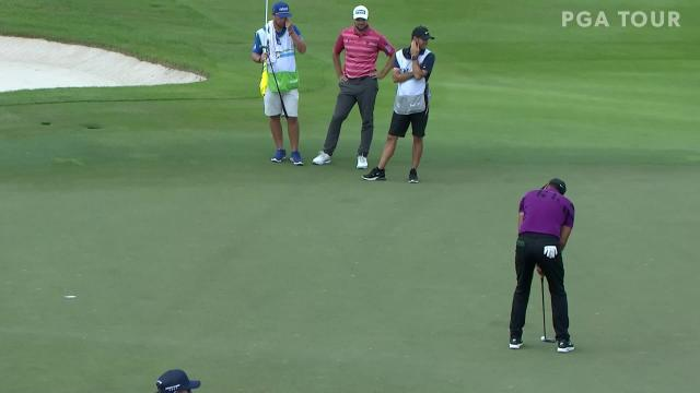 PGA TOUR | Jason Day birdie putt on No. 18 at The RSM Classic