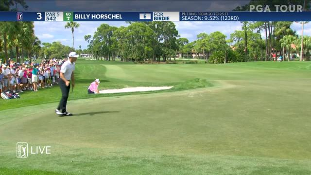 Billy Horschel leads the field in putting at 2019 The Honda Classic