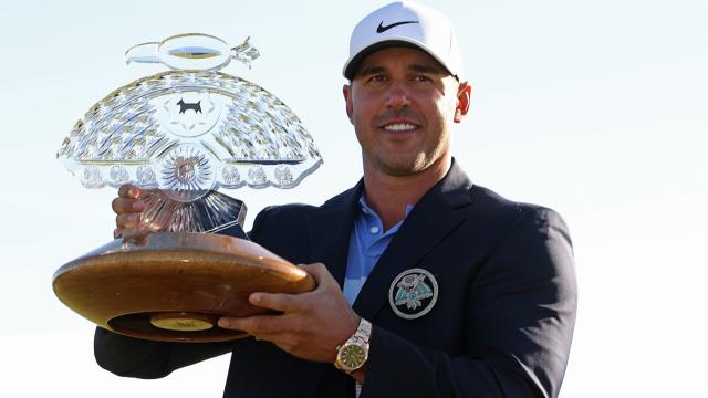 Brooks Koepka wins for second time at Waste Management
