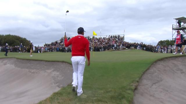 Tiger wins, Internationals dominate under Adam Scott's lead