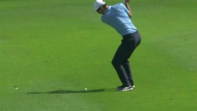 Dylan Frittelli holes out for eagle at Mayakoba