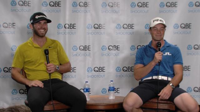 Wolff and Hovland comment before QBE Shootout