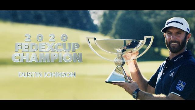 PGA TOUR   2020 FedExCup Champion: Dustin Johnson