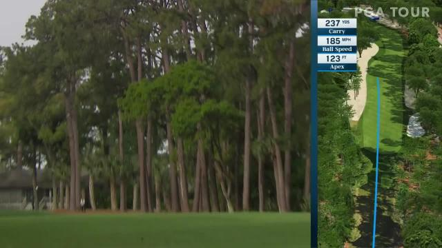 Kevin Kisner's nice approach yields birdie at RBC Heritage