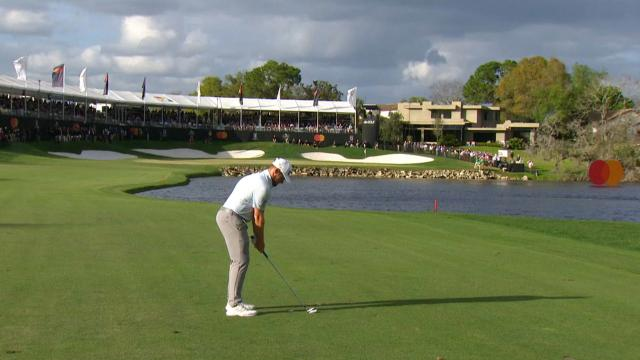 Today's Top Plays: Tyrrell Hatton's clutch approach sets up win for the Shot of the Day