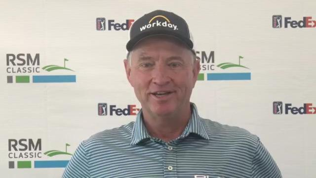 Davis Love III on the strength of this year's field at The RSM Classic