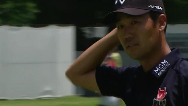 Today's Top Plays: Kevin Na's birdie putt from 33 feet for the Shot of the Day