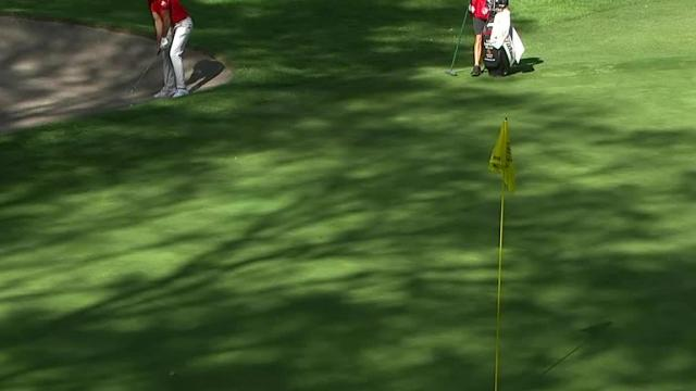 Rafa Cabrera Bello's hole-out bunker shot at WGC-Mexico