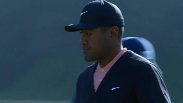 Tony Finau sticks tee shot to set up birdie at Genesis