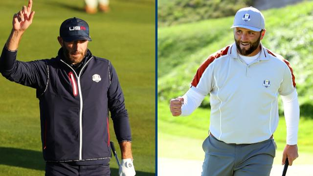 Rahm undefeated, USA's large lead & Casey's blind hole-out