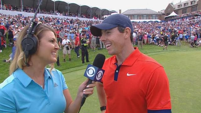 Rory McIlroy interview after winning at RBC Canadian