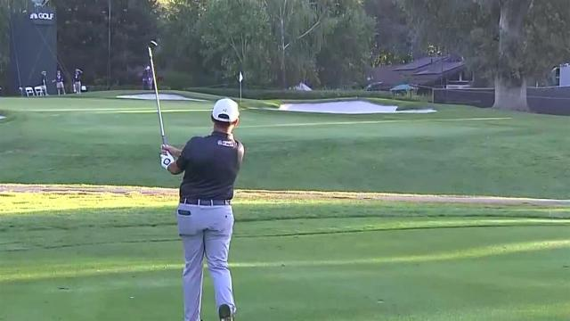 Chez Reavie's nice approach leads to birdie at Safeway Open